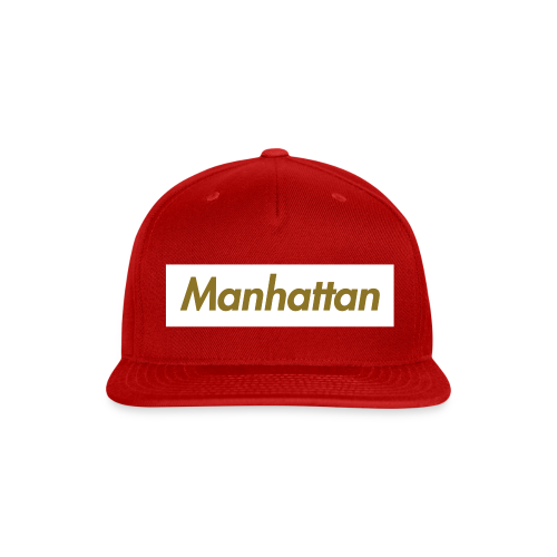 Unisex - Manhattan Snapback - Snap-back Baseball Cap
