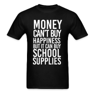 T-Shirts ~ Men's T-Shirt ~ Addicted to School Supplies | Men's