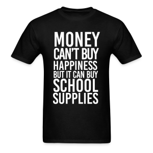 Addicted to School Supplies - Men's T-Shirt