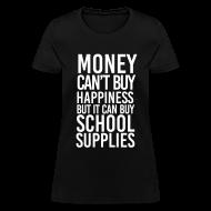 Women's T-Shirts ~ Women's T-Shirt ~ Addicted to School Supplies | Women's