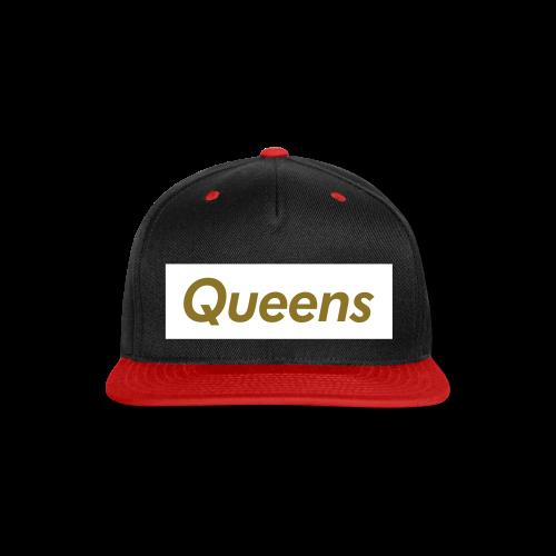 Unisex - Queens Snapback - Snap-back Baseball Cap