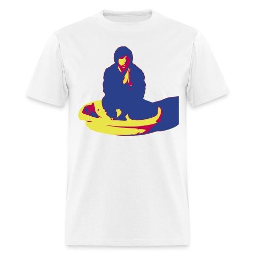 chris prays color - Men's T-Shirt