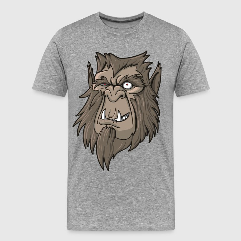 Scary gorilla face T-Shirts - Men's Premium T-Shirt