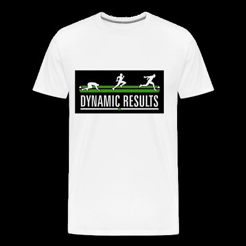 Classic White T-Shirt - Men's Premium T-Shirt