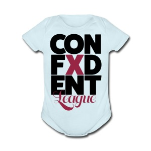 Confident league - Short Sleeve Baby Bodysuit