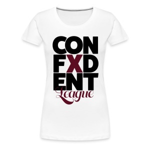 Confident League - Women's Premium T-Shirt