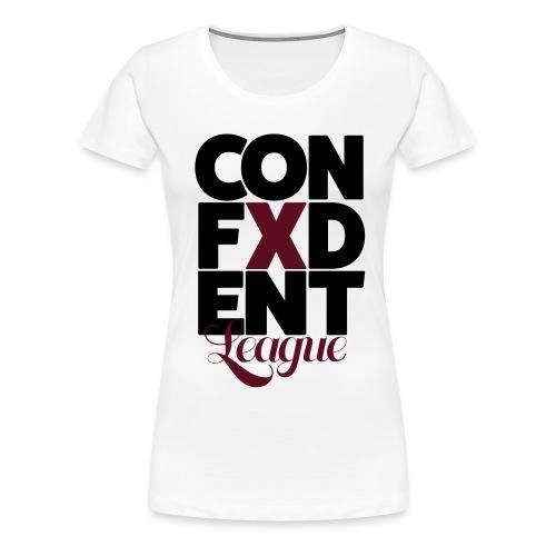 Confident League - Women's Premium T-Shirt