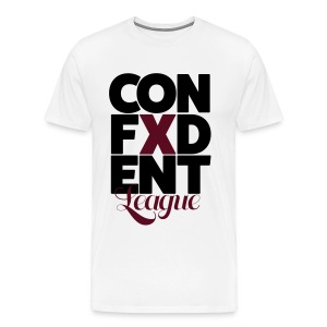 Confident league - Men's Premium T-Shirt
