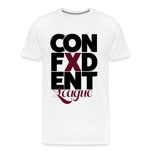 Confident league - Men's Premium T-Shirt