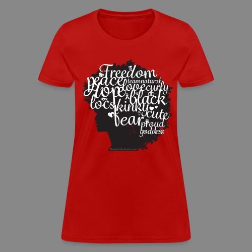 Afro Text II - Women's T-Shirt