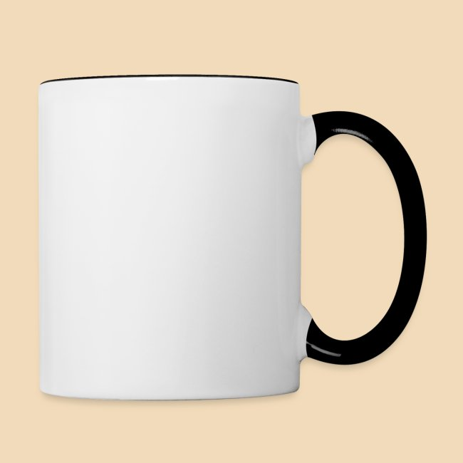 Rockhound Black/White mug