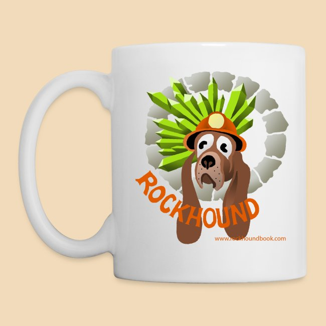 Rockhound white Coffee Cup