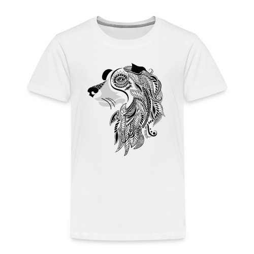 Who Let The Dogs Out - Tribal Puppy Toddler Premium T-Shirt from South Seas Tees - Toddler Premium T-Shirt