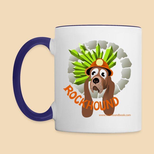 Rockhound Blue/White Mug