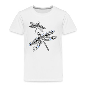 Tribal Dragonfly Toddler Premium T-Shirt by South Seas Tees - Toddler Premium T-Shirt