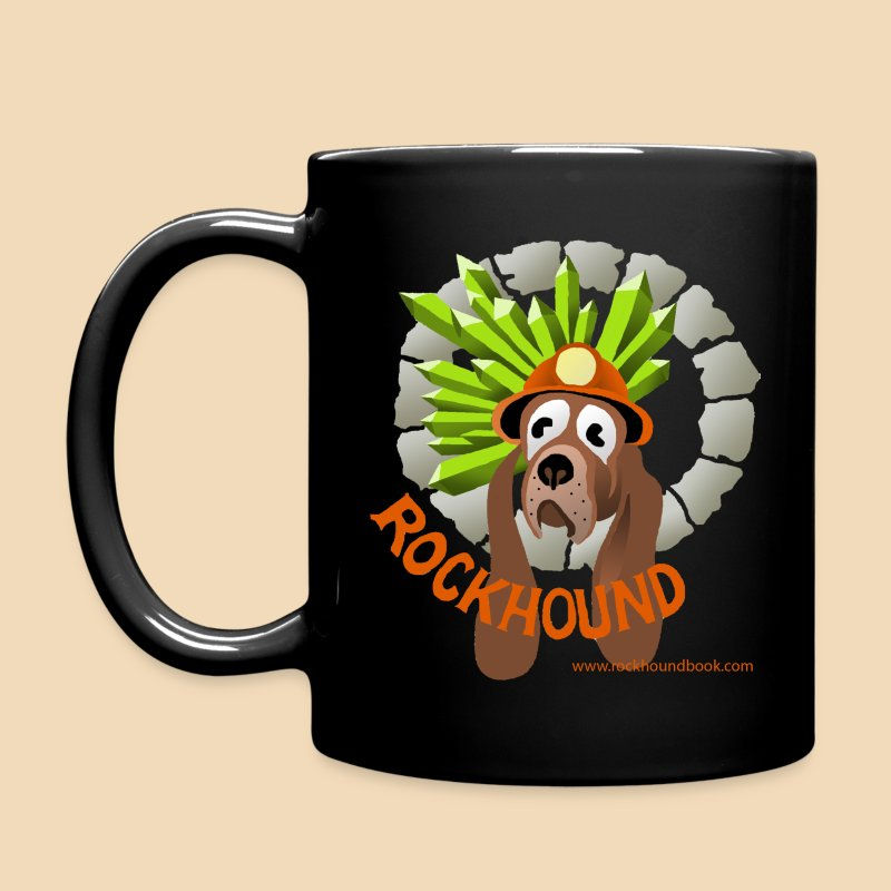 Rockhound Black Coffee Mug - Full Color Mug