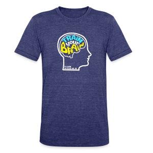 Train Your Brain T-Shirt - Unisex Tri-Blend T-Shirt