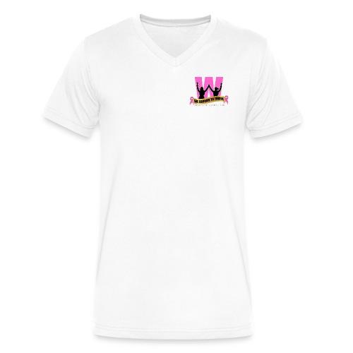 We Survive To Thrive Men's v-Neck T-Shirt - Men's V-Neck T-Shirt by Canvas