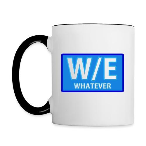 W/E Show Logo - Coffee Mug - Contrast Coffee Mug
