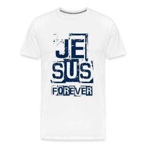 Jesus Forever - Men's Premium T-Shirt