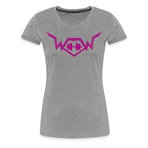 Workout with Wayne Womens Classic Logo Tee - Women's Premium T-Shirt