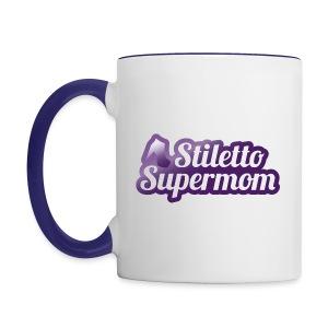 Stiletto Supermom Logo Mug - Contrast Coffee Mug