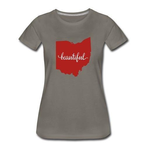 Ohio Beautiful Women's Tee - Women's Premium T-Shirt
