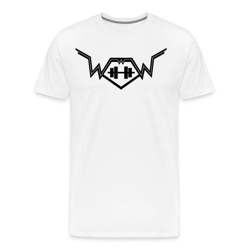 Workout with Wayne Mens Classic Logo Tee - Men's Premium T-Shirt