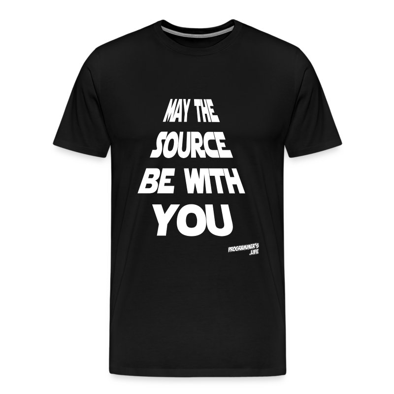 May the source - Men's Premium T-Shirt