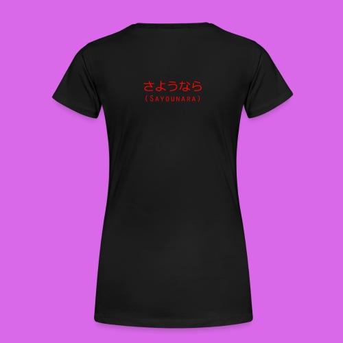Womens Goodbye - Women's Premium T-Shirt