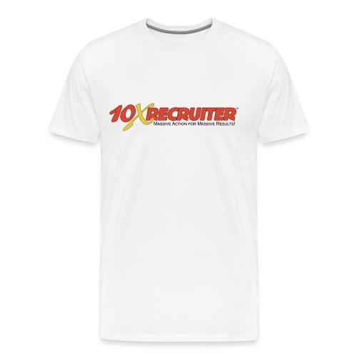 10X Recruiter Logo Shirt - Men's Premium T-Shirt