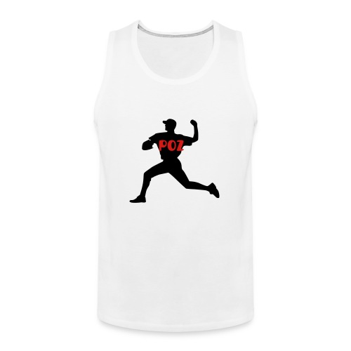 Poz Pitcher Men's Premium Tank Top - Men's Premium Tank