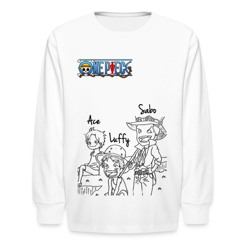 One Piece - Kids' Long Sleeve T-Shirt