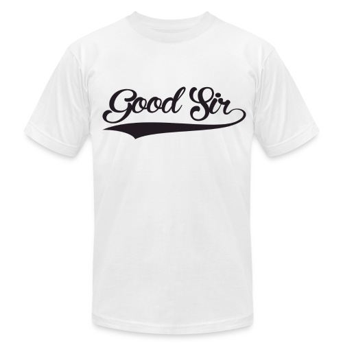 GS Script - Men's Fine Jersey T-Shirt
