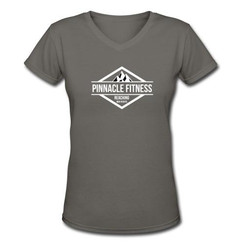 Women's Cotten V-Neck - Women's V-Neck T-Shirt