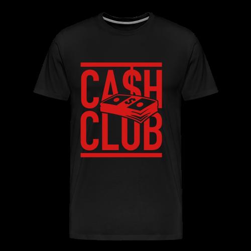 Cash Black Tee - Men's Premium T-Shirt