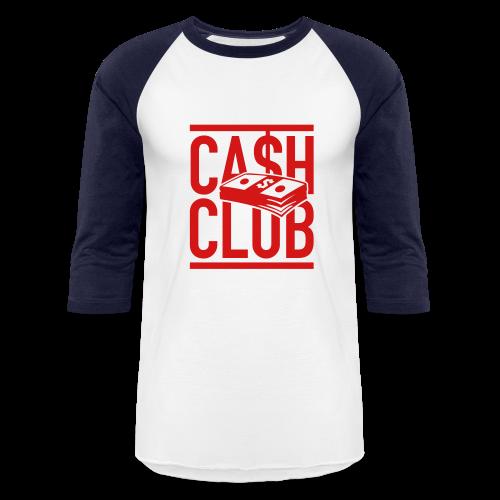 Cash Blue Baseball Tee  - Baseball T-Shirt