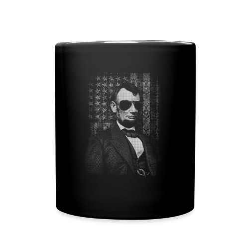 Badass Abe - Full Color Mug