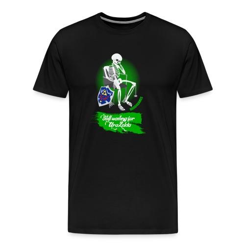 Still Waiting for Ura Zelda - Men's Premium T-Shirt