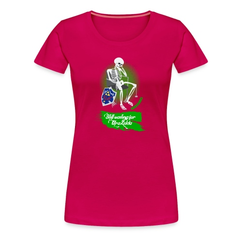 Still Waiting for Ura Zelda - Women's Premium T-Shirt