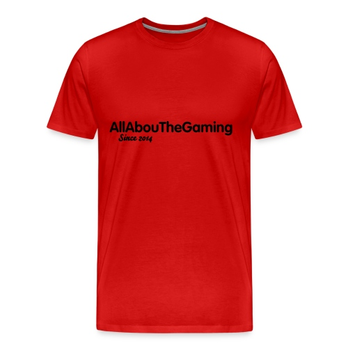 AllAbouTheGaming Since 2014 T-SHIRT - Men's Premium T-Shirt