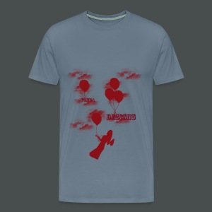 Flying girl - Men's Premium T-Shirt