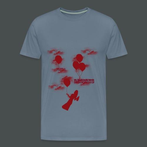 Flying girl - Men's Premium T-Shirt