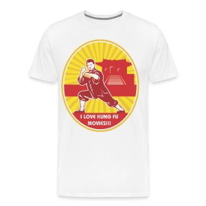 Mens Kung Fu Shaolin Mens Tee - Men's Premium T-Shirt