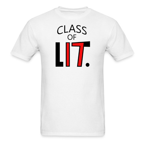 Class of LIT Red/Black - Men's T-Shirt