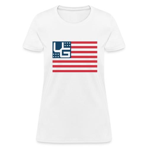 ViSion America Woman's Tee - Women's T-Shirt
