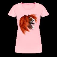 Women's T-Shirts ~ Women's Premium T-Shirt ~ THE LAUGHING PONY