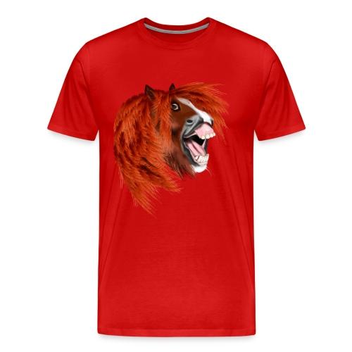 THE LAUGHING PONY - Men's Premium T-Shirt