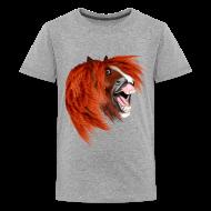 Kids' Shirts ~ Kids' Premium T-Shirt ~ THE LAUGHING PONY
