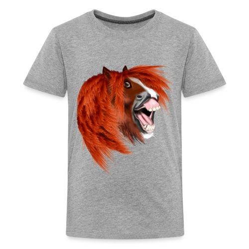 THE LAUGHING PONY - Kids' Premium T-Shirt
